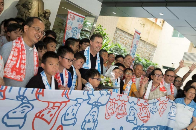 """Macau – Visit of Rector Major to """"Mary Help of Christians"""" Province (CIN)"""