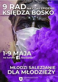 """Poland – """"9 Don Bosco's advice in time of pandemic"""": St of Youth's message in time of COVID-19"""
