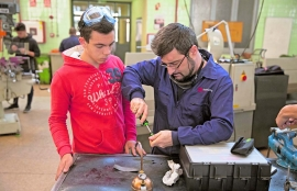Spain - Young university students look to Salesian Vocational Training as a life choice