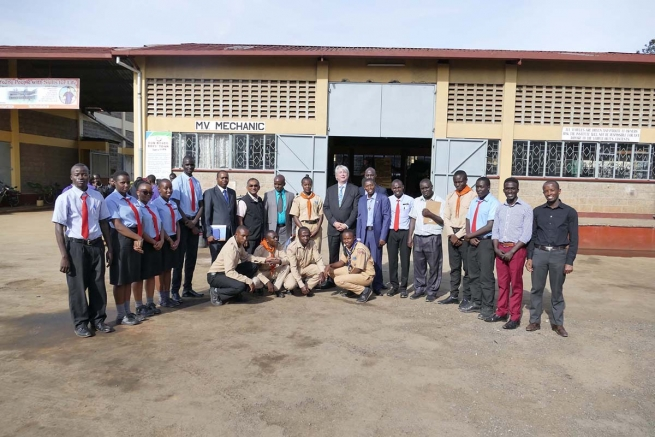 "Kenya – Il Presidente di ""WorldSkills International"" visita ""Don Bosco Boys Town"""