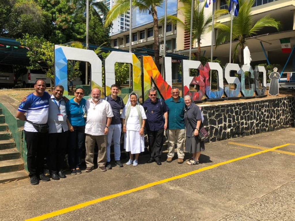 Panama – Fr Fabio Attard reaches Panama2019