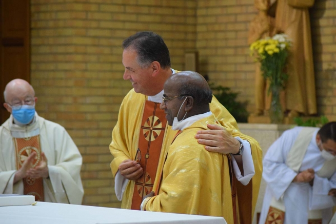 Italy – Installation of Fr Kanaga as new Visitor of Salesian Pontifical University