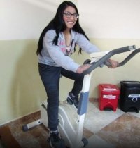 Ecuador – Nataly's willpower to overcome her serious physical problem
