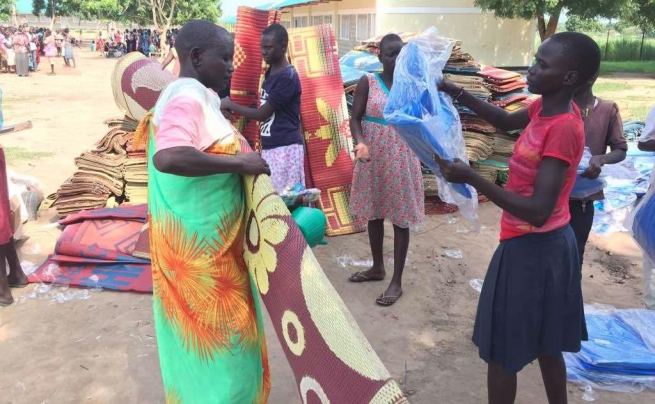 "South Sudan - Support to vulnerable families thanks to donations from ""Salesian Missions"""