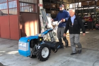 Italy - Sending materials to Palabek to build small workshops