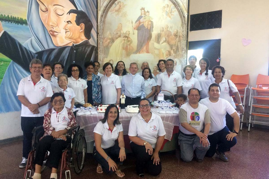 Brazil - Celebration for 20 Years of Paul VI Local Center and 123 Years of Foundation of BCG Province