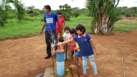 Brazil - AMA project travels to Xavantes villages for maintenance of wells
