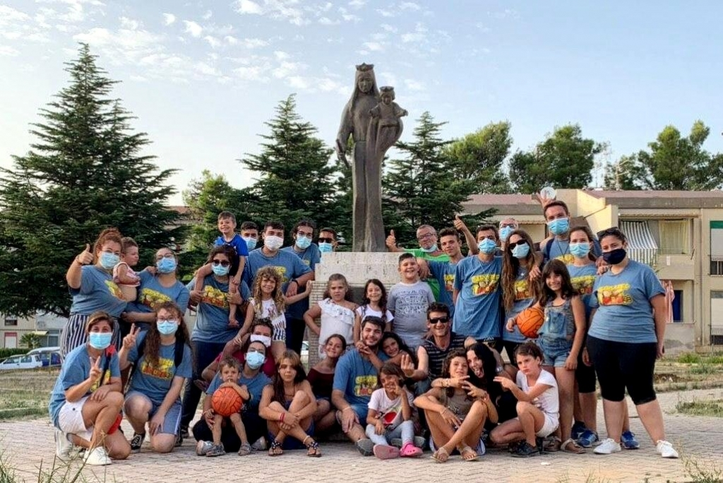 Italy - In Alcamo, district of Mary Help of Christians celebrates: missionary camp experienced by youths of Missionary Animation