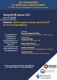 """Italia – """"I Diritti Negati al tempo del Covid-19: le nuove disuguaglianze"""""""
