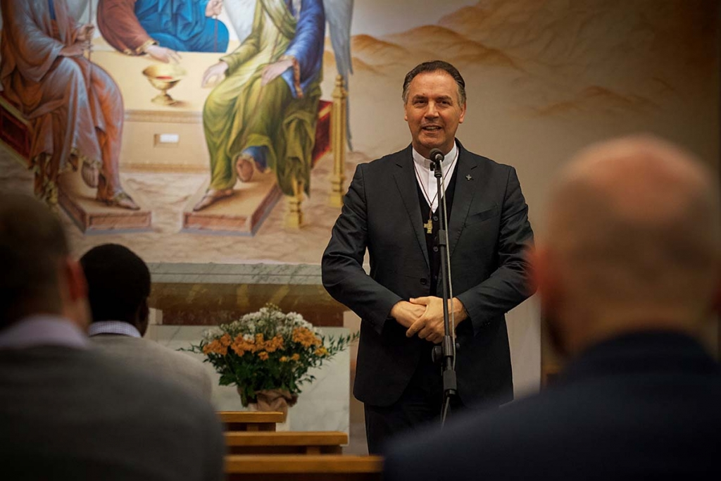 Italy - Rector Major visits community of Turin's theological studentate