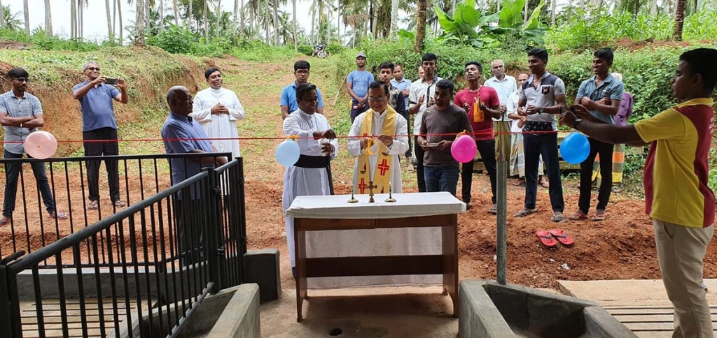 Sri Lanka - Pig farm inaugurated to support Salesian works