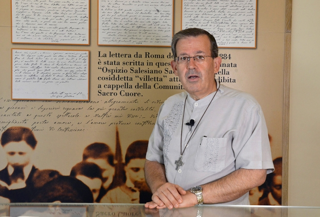 Italy - Fr Fabio Attard explains Youth Ministry projects in view of General Chapter