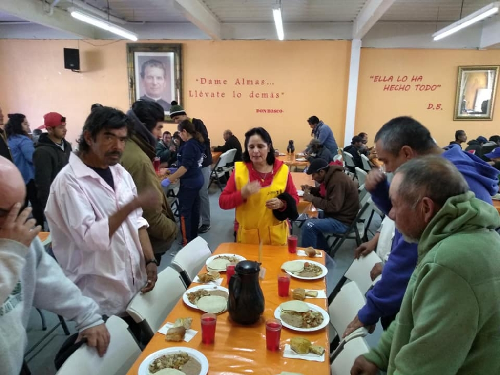"Mexico - Feast of St. Francis of Sales at refectory ""Padre Chava"""