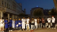 Italy – Muslim and Christian youths pray together for concluding Ramadan celebration