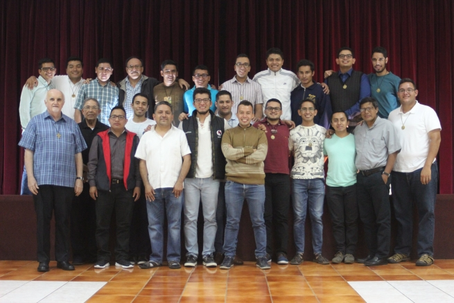 Guatemala - Fr Ploch visits Salesian Philosophy Institute