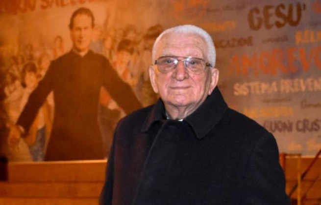 "Italy - 99 years of memories of Fr di Mauro, Salesian, the living history of ""Salette"" house in Catania"
