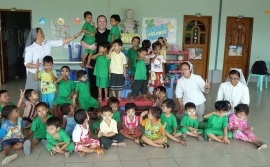 Myanmar - Salesian missions in the country: a service for the smile of the poorest children