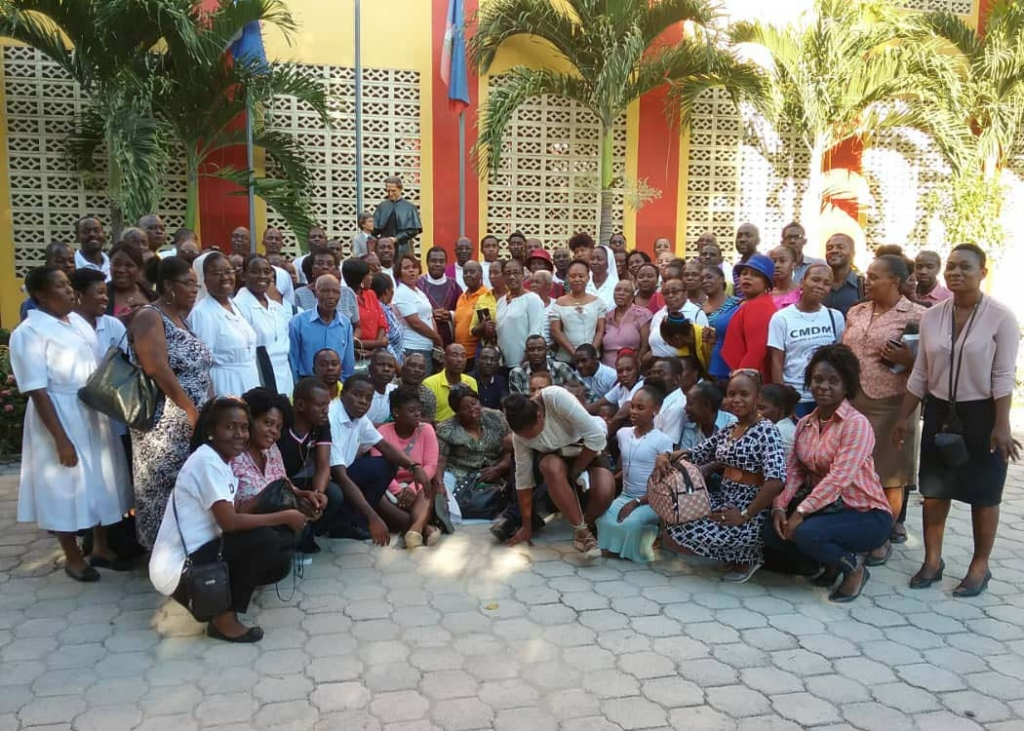 Haiti - Spiritual retreat for Salesian Family