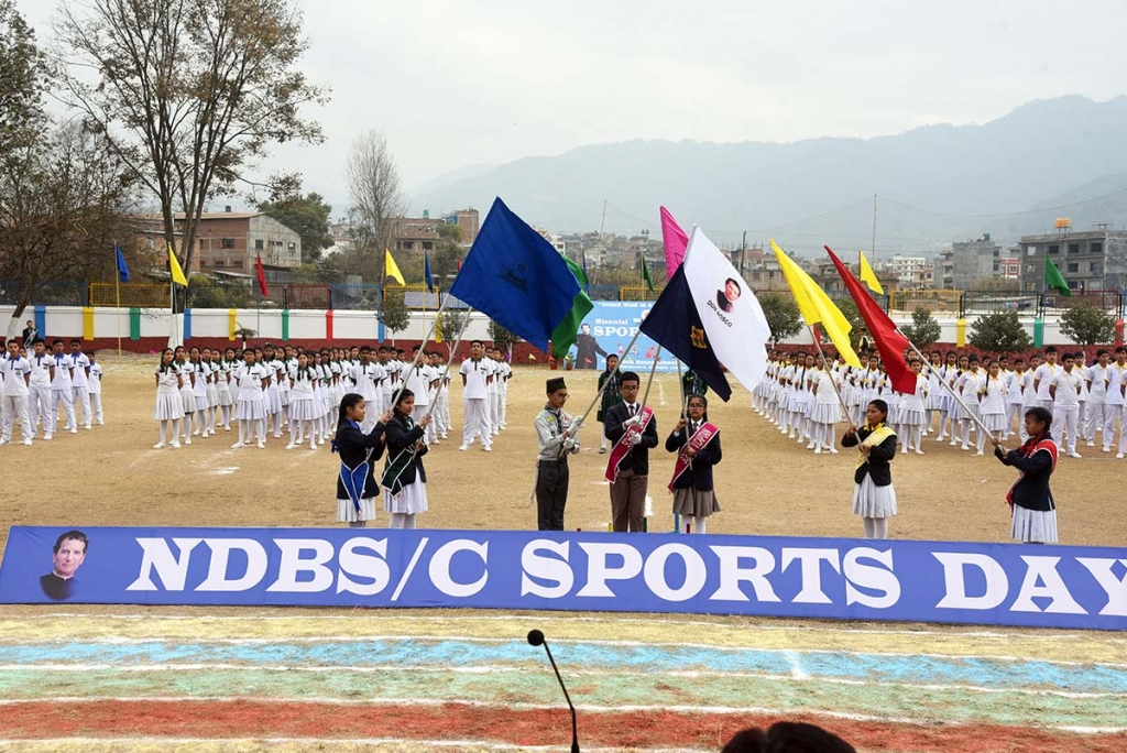 Nepal - Spectacular Day of Sports in Don Bosco school