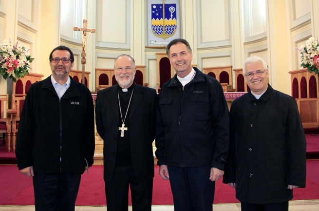 "Chile - The Rector Major: ""We have more force when we are able to bear witness to communion"""