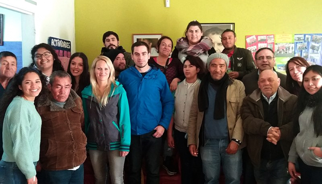 Chile - Volunteers at the service of young people