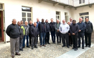 Italy – Twelve Provincials, from four continents, for mid-term Review meeting