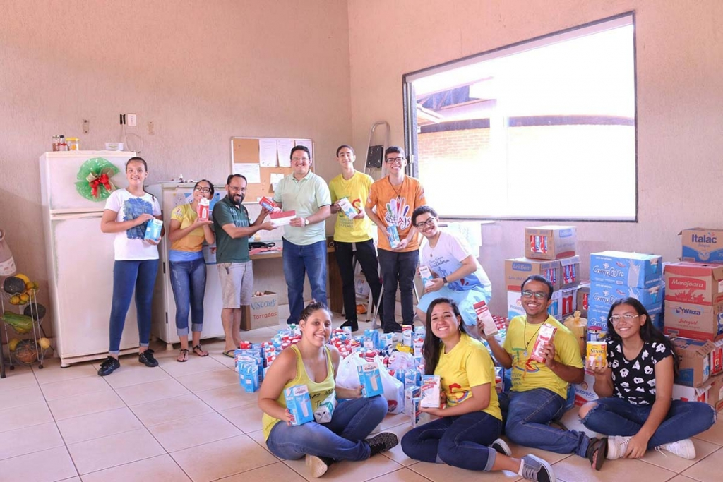 Brazil – 800 liters of milk donated to needy children