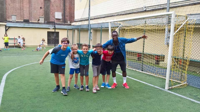 Italy - Ousman, from refugee boat to Youth Summer Camp animator: successful integration