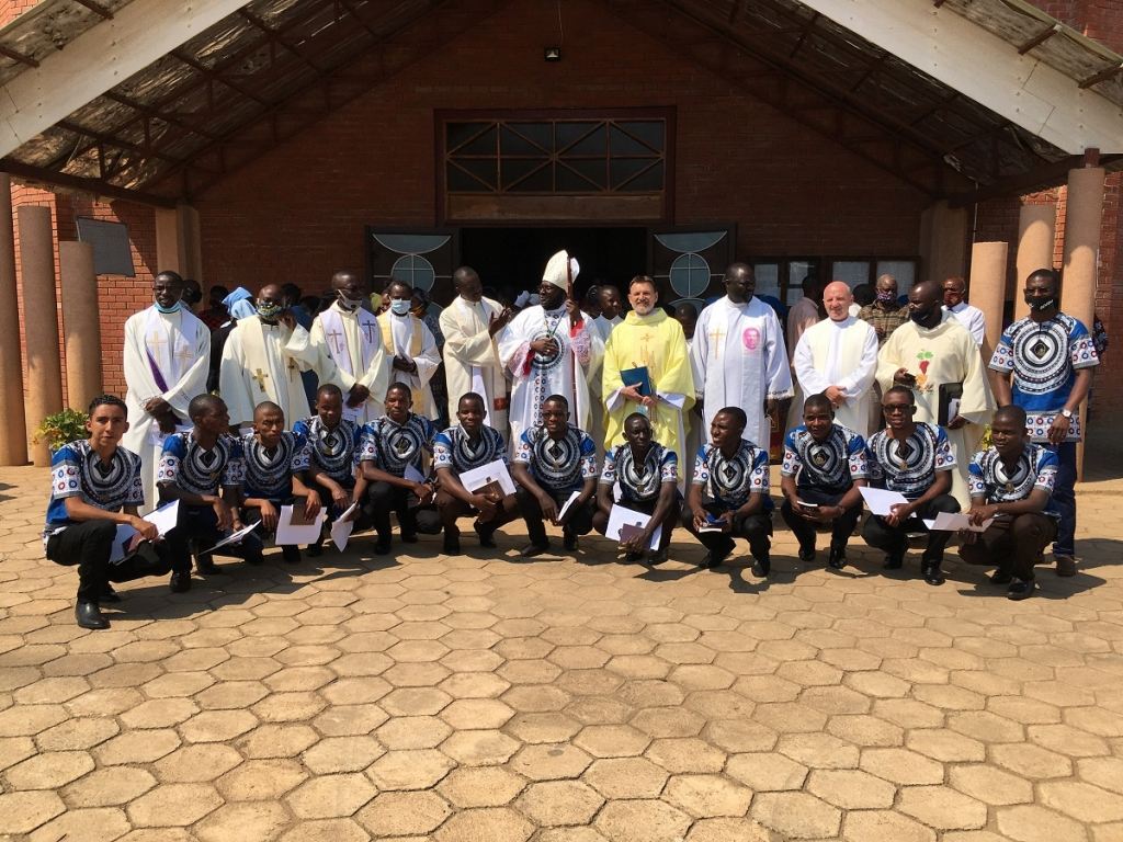 Zambia – First religious profession of 13 novices