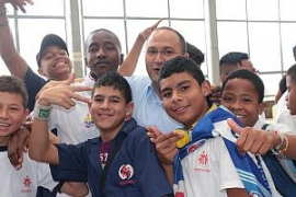 "Colombia - Fr Rafael Bejarano: ""We hope the peace process with FARC allows children to enjoy their status as children"""