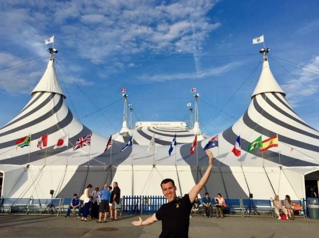 "Canada - ""Cirque du Soleil"": the work experience of a former Salesian pupil of Sarrià"