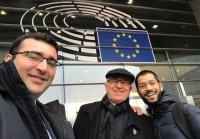 Belgium – Fr. Rozmus visit: an opportunity strengthening existing contacts at European Institutions