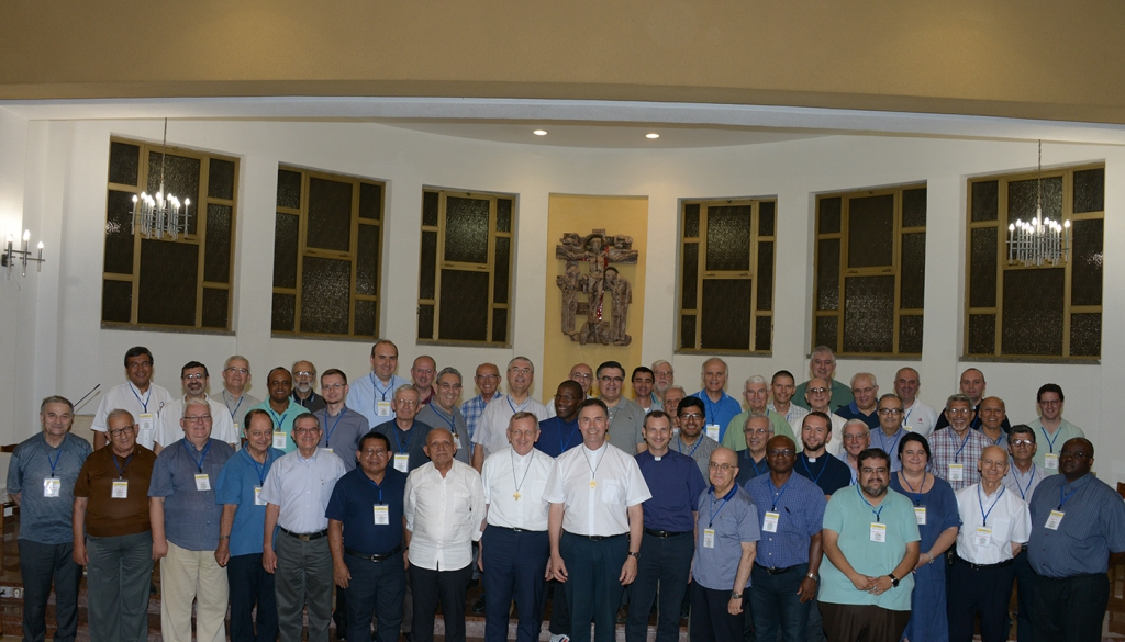 "Italy - Provincial secretaries from around the globe receive the Rector Major's ""Good Night"""