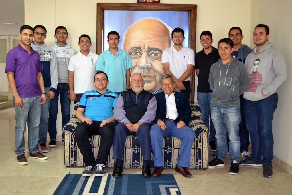 Colombia - Visit by Fr Morales, Provincial of Bogotá, to Salesian post-novitiate