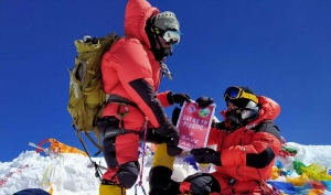 India – No Mountain too High: Salesian Cooperator Tagit Sorang Abraham scales Mount Everest