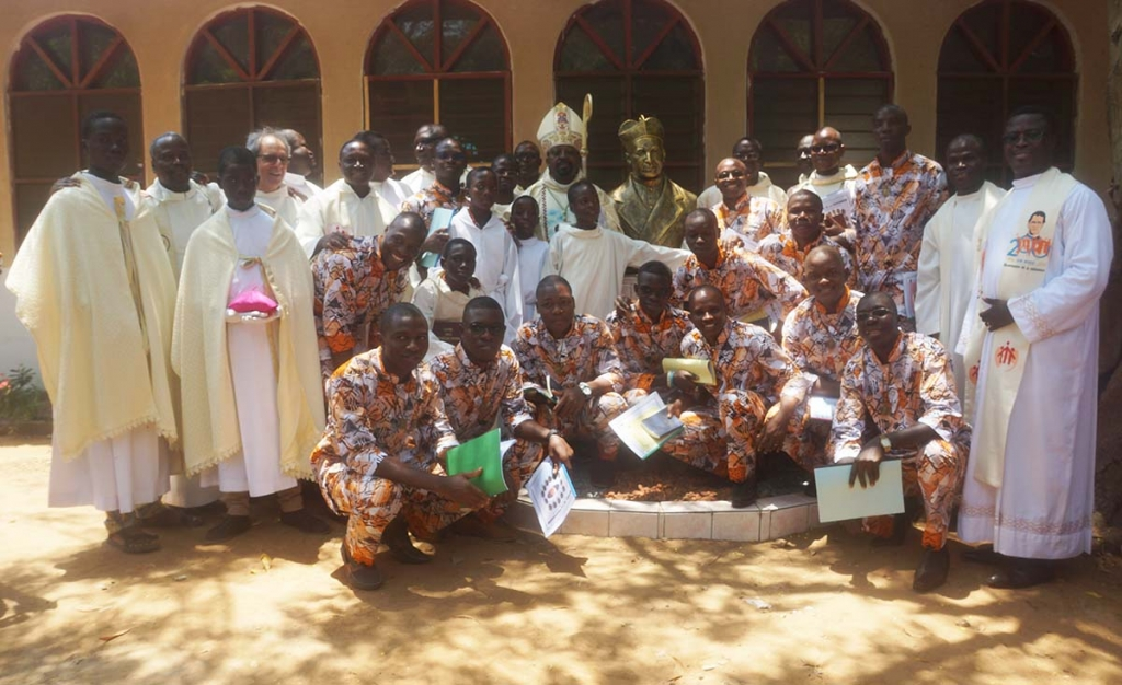 Togo - First Profession of 13 novices