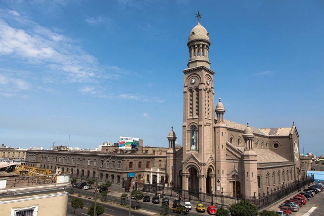 Peru – July 29: 100 years of Basilica of Mary Help of Christians in Lima