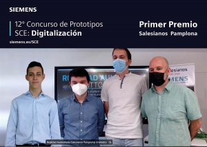 Spain – Pamplona Salesian Institute wins Siemens National Prototype Competition