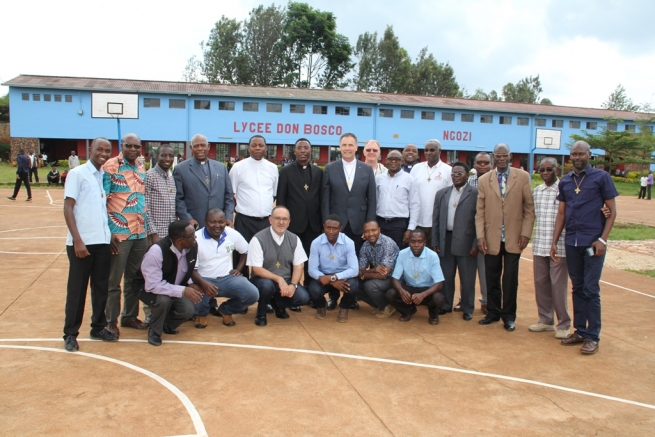 "Burundi - Rector Major: ""Go and bear witness of the spirit you have received from Don Bosco"""