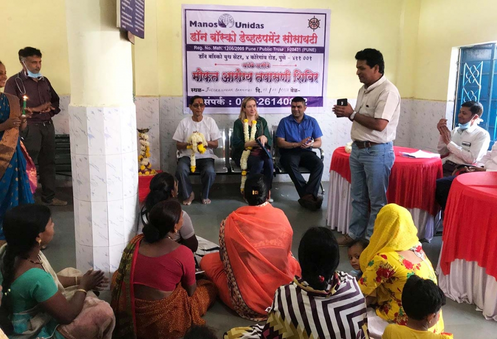 "India – Ayuda a las mujeres del ""Don Bosco Development Society"""