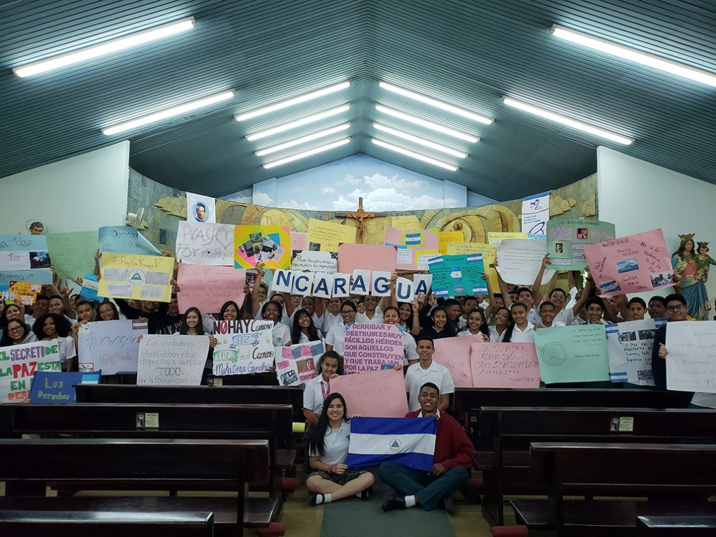 Panama - Day of Prayer for Peace in Nicaragua