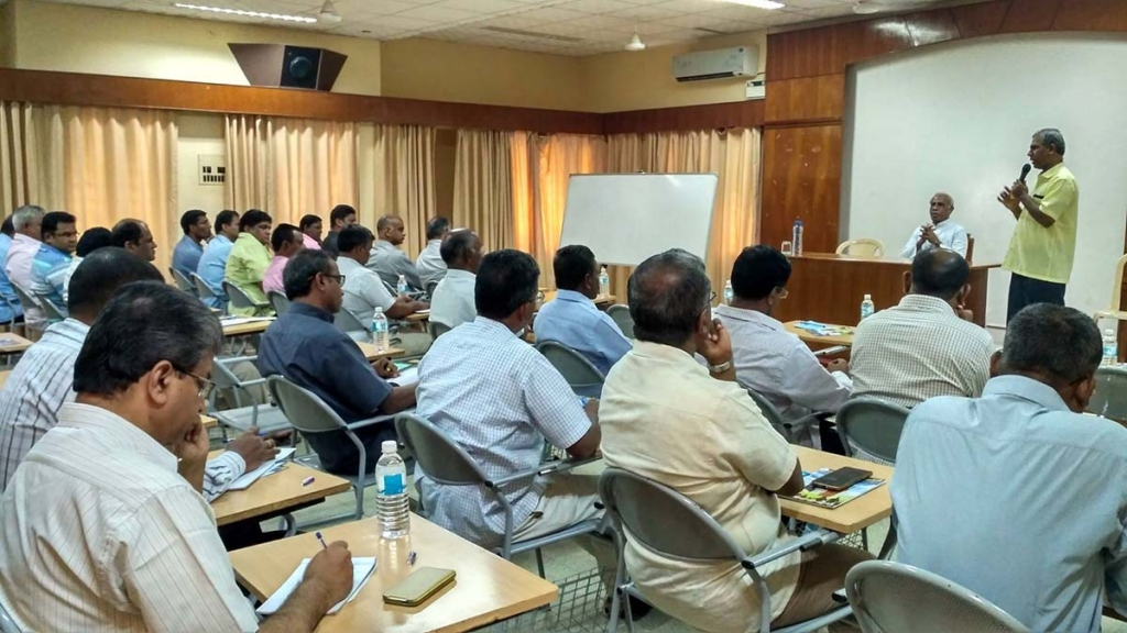 India - Formation and animation for Tiruchy Province directors and leaders