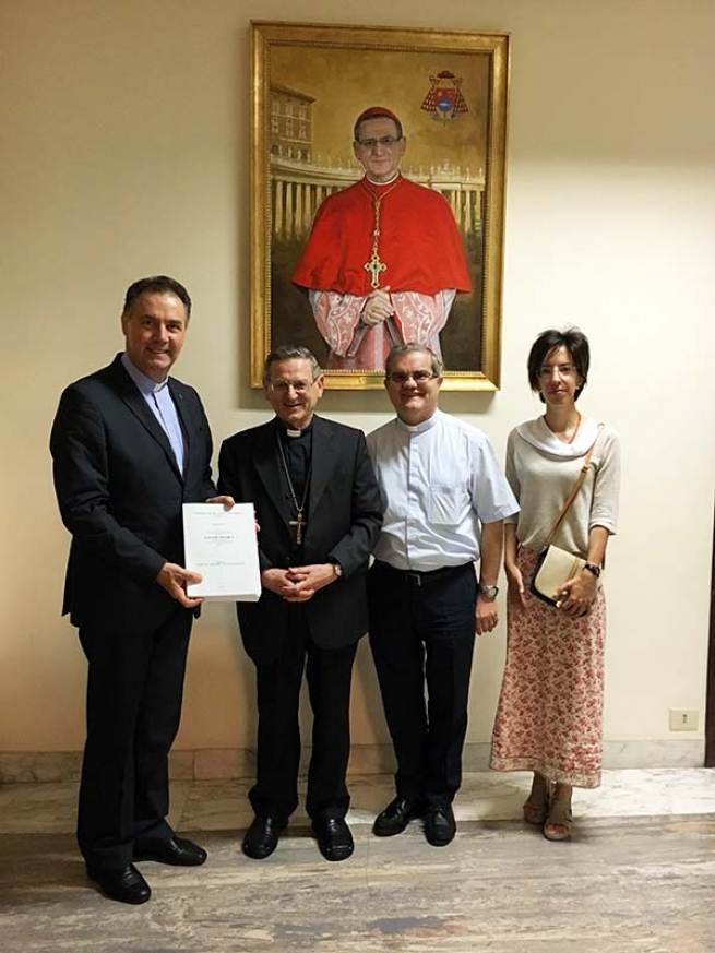 Vatican - Presentation of Positio super virtutibus of Servant of God Ignazio Stuchlý