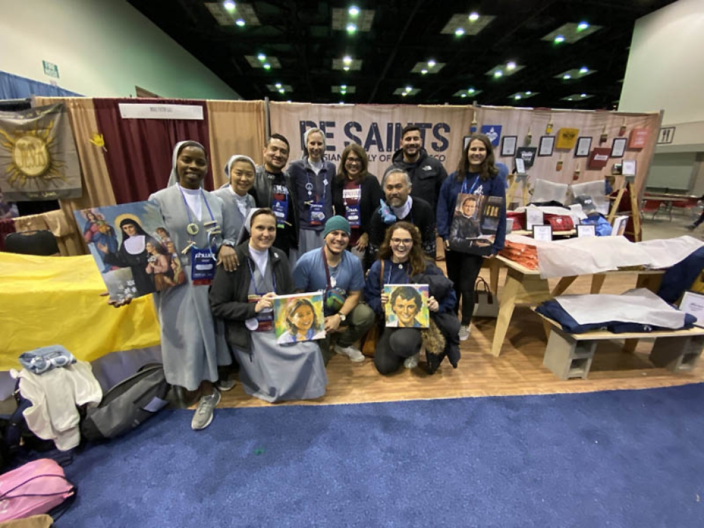 United States - Salesian Family at Conference of Young Catholics
