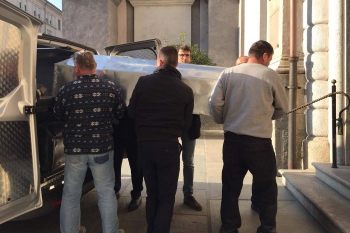Italy - Transfer of mortal remains of Don Bosco's Successors to Valdocco