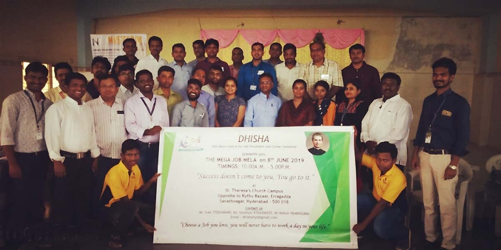 India - Salesians organize large jobs fair for young people