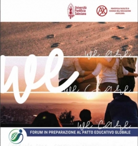 "Italia – Un forum inter-generazionale per un'alleanza educativa comune: ""We are, We share, We care"""