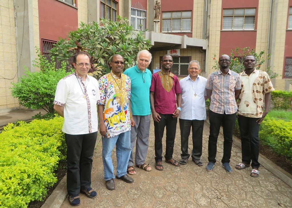 Cameroon - Visit of the Councillor General for Formation