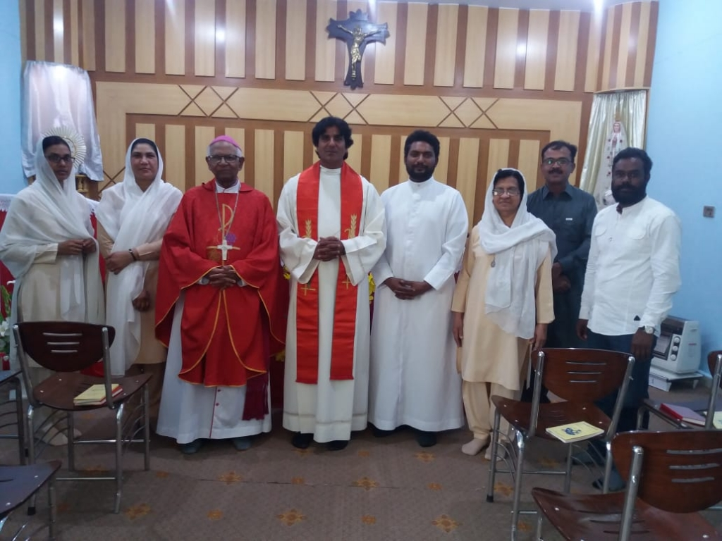 Pakistan - Installation of new Director and renewal of vows