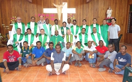 Papua New Guinea – Fr Kanaga concludes the Extraordinary Visit to Papua NG and Solomon Islands